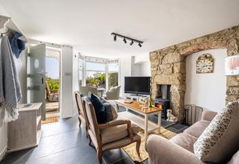 Fairings Cottage, Sleeps 4 + cot, Penzance.