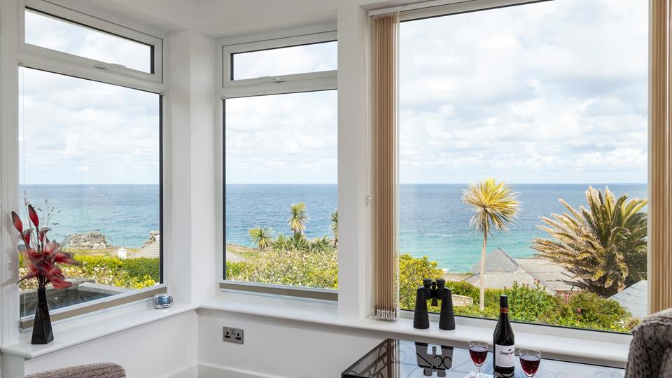 With such breathtaking views, it'll be hard to tear yourself away from the perfectly positioned window seats.