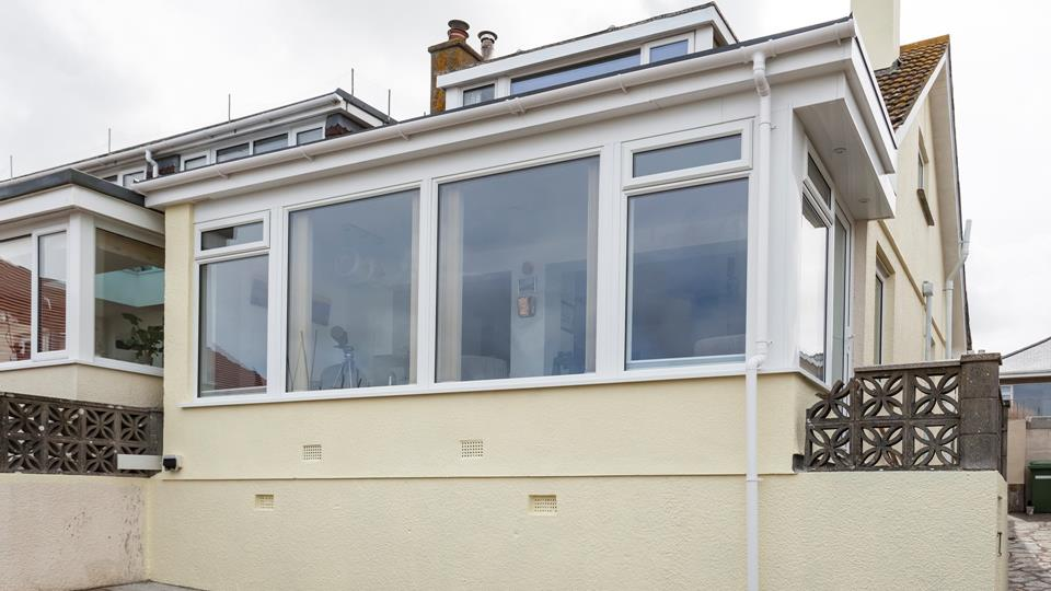 Benefitting from large windows, Mary's Place has advantageous views across St Ives.