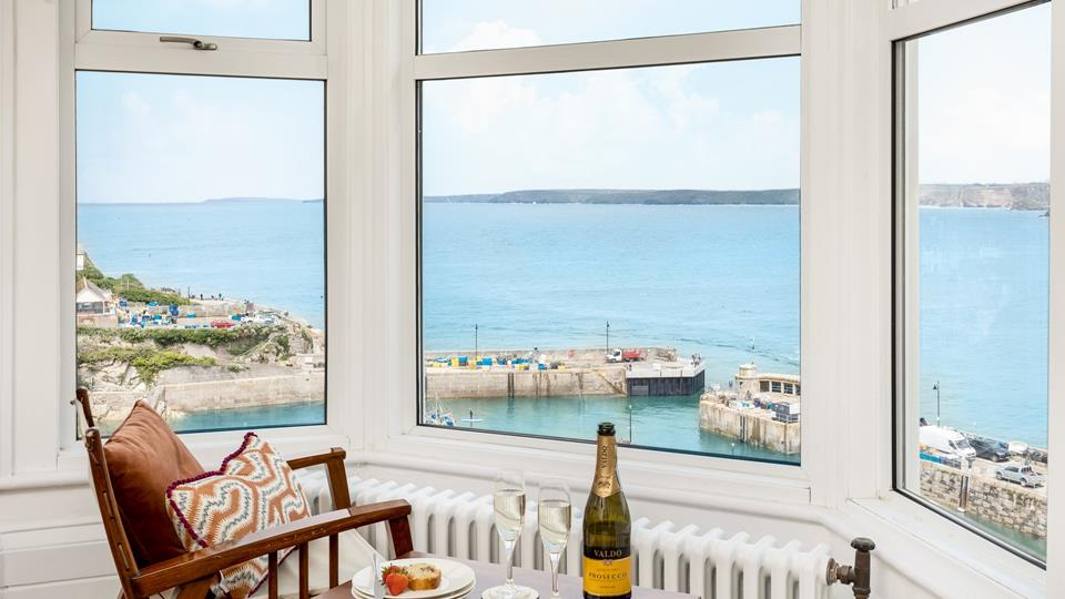 You won't need for a TV, you can simply stare all day long at the mesmerising views from almost every room.