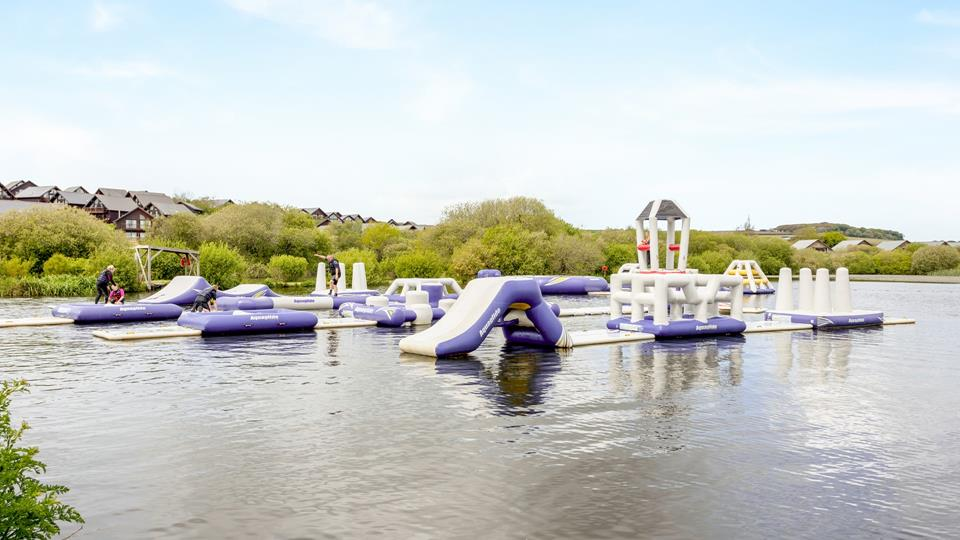 Test your water skills, lots to do for all the family.