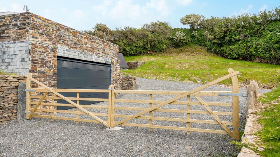 Your property awaits, drive through to a spacious parking area and large unlandscaped garden.