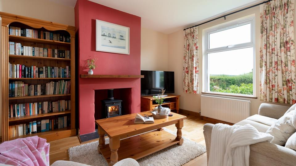 Decorated in cosy colours with a cute, countryside vibe, the lounge is perfect for snuggling up with your favourite hot drink.