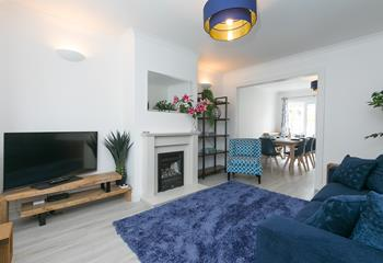 Tre Lowen Chy, Sleeps 6 + cot, St Ives Town.