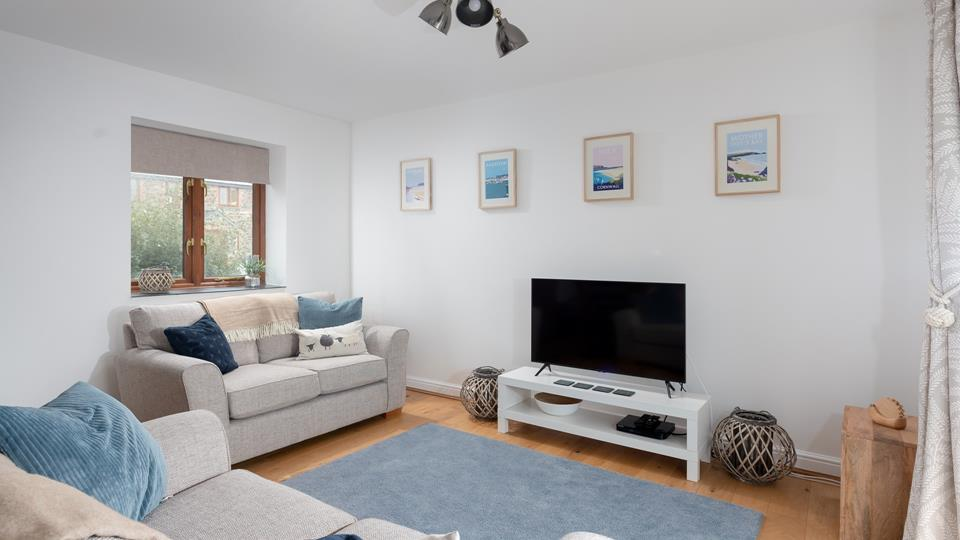 Relax in front of the T.V for a cosy evening in with family and friends.